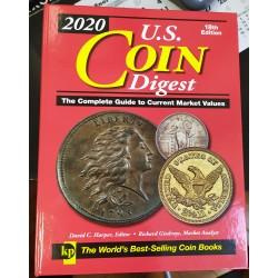 U.S. COIN DISGEST COIN BOOK Edición 2020 CATALOGO DE MONEDAS DE ESTADOS UNIDOS desde 1776 UNITED STATES COINS 18th Edition