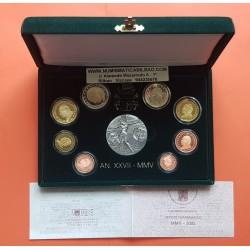 . 2015 VATICANO ESTUCHE EUROS PROOF + 20 EUROS PLATA SILVERSET