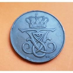 SUECIA 5 ORE 1916 KM.779 MONEDA DE COBRE MBC @ESCASA@ Sweden I