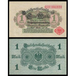 ALEMANIA 1 MARCO 1920 IMPERIO Pick 51 BILLETE SC GERMANY 1 Mark BANKNOTE
