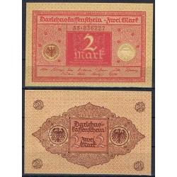 ALEMANIA 2 MARCOS 1920 REPUBLICA DEL WEIMAR Pick 59 BILLETE SC GERMANY Zwei 2 Mark UNC BANKNOTE