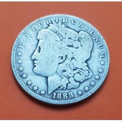 ESTADOS UNIDOS 1 DOLAR 1899 O MORGAN PLATA MBC+ Silver $1 Dollar