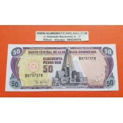 REPUBLICA DOMINICANA 50 PESOS 1997 BASILICA y CATEDRAL Pick 155 BILLETE EBC+ Dominican Republic PVP NUEVO 35€