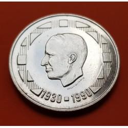 .BELGICA 20 FRANCOS 1935 LEOPOLD PLATA EBC- SILVER BELGIUM FRANC