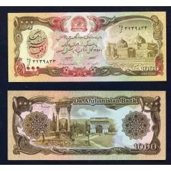 AFGANISTAN 1000 AFGHANIS 1979 MEZQUITA y ANTIGUO PALACIO Pick 61A BILLETE SC Afghanistan UNC BANKNOTE