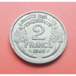 FRANCIA 50 CENTIMOS 1945 B MORLON KM*894.2A III REICH NAZI
