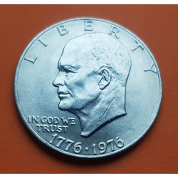 USA 1 DOLLAR 1976 P EISENHOWER NICKEL SC TYPE 1