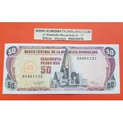 REPUBLICA DOMINICANA 50 PESOS 1994 BASILICA y CATEDRAL Pick 135 BILLETE EBC- Dominican Republic PVP NUEVO 35€