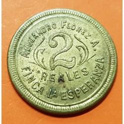 BOLIVIA 10 CENTAVOS 1909 MONTAÑA NICKEL SC KM.179.2